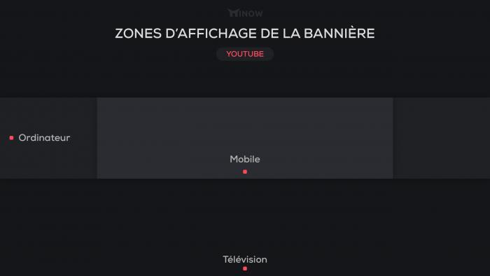 Composition d'une bannière YouTube